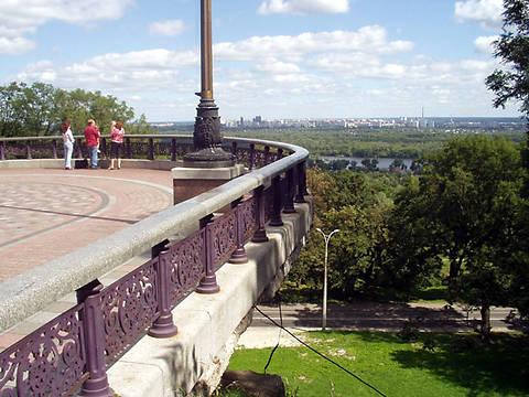 Смотровую площадку в Мариинском парке закрыли для посетителей