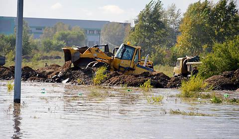 В результате наводнения, вызванного проливными дождями, в Одесской области разрушен 91 дом