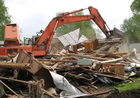 В США бригада строителей по ошибке снесла не тот дом
